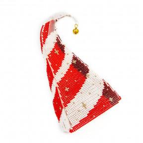 Набор для вышивания бисером объемной новогодней игрушки Golden Key N-023