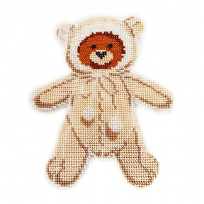 Набор для вышивания бисером объемной новогодней игрушки Golden Key N-032
