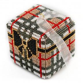 Набор для вышивания бисером объемной новогодней игрушки Golden Key N-038