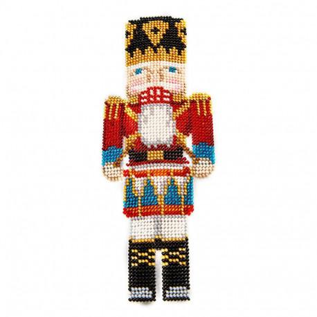 Набор для вышивания бисером объемной новогодней игрушки Golden Key N-044
