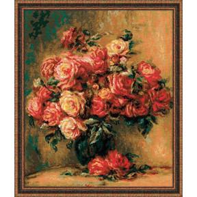 Набор для вышивки крестом Риолис 1402 Букет роз