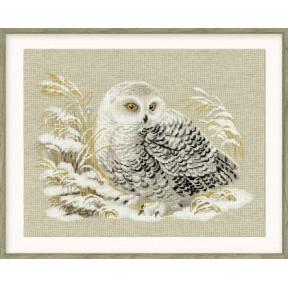 Набор для вышивки крестом Риолис 1241 Белая сова
