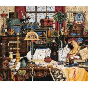 Набор для вышивки крестом Dimensions 03884 Maggie Messmaker