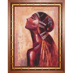 Набор для вышивки крестом Юнона СТ0902 Дочь солнца фото