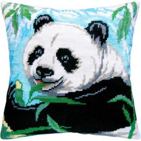 Набор для вышивки подушки Чарівниця V-07 Панда