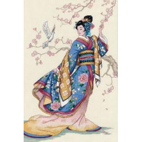 Набор для вышивки крестом Dimensions 03795 Elegance of the Orient