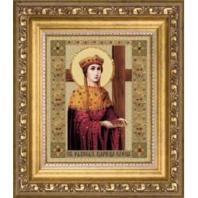 Набор для изготовления картины со стразами Чарівна Мить КС-082 Икона святой равноапостольной царицы Елены