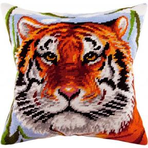 Набор для вышивки подушки Чарівниця V-75 Тигр
