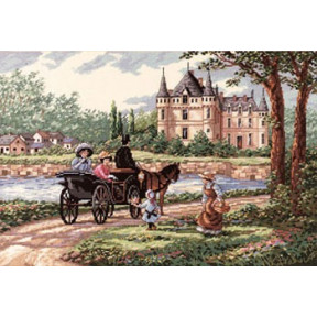 Набор для вышивки крестом Dimensions 03790 M'Lady's Chateau