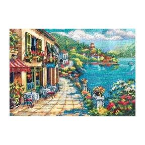 Набор для вышивки крестом Dimensions 65093 Overlook Cafe