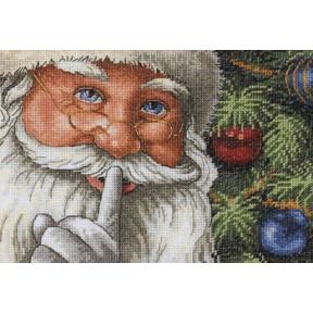 Набор для вышивки крестом Dimensions 08799 Santa's Secret