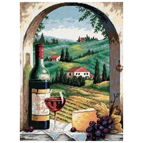 Набор для вышивания Dimensions 06972 Dreaming of Tuscany