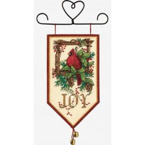 Набор для вышивания баннера Dimensions 08822 Cardinal Joy