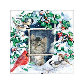 Набор для вышивки крестом Dimensions 73504 Winter Kitten
