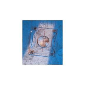 Доска магнитная для схем с магнитным транспортиром-линзой