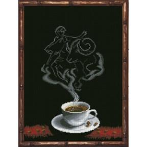 Набор для вышивания крестиком КиТ 50413 Кофейная Фантазия -