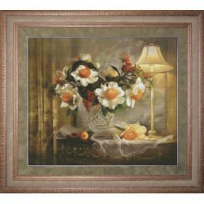 Набор для вышивки крестом Юнона 1001 Вечерний натюрморт фото