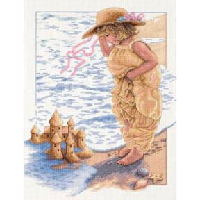 Набор для вышивания  Dimensions 13730 Sandcastle Dreams