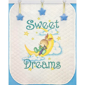 Набор для вышивания одеяла Dimensions 70-73922 Sweet Dreams